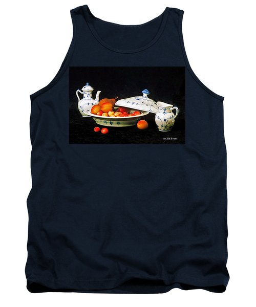Royal Copenhagen And Fruits Tank Top