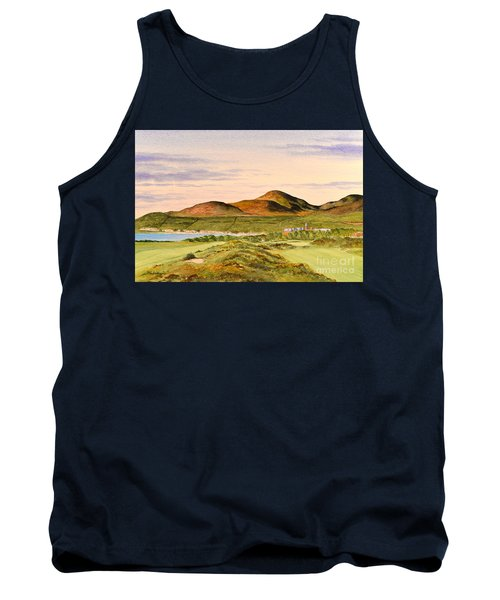 Royal County Down Golf Course Tank Top by Bill Holkham