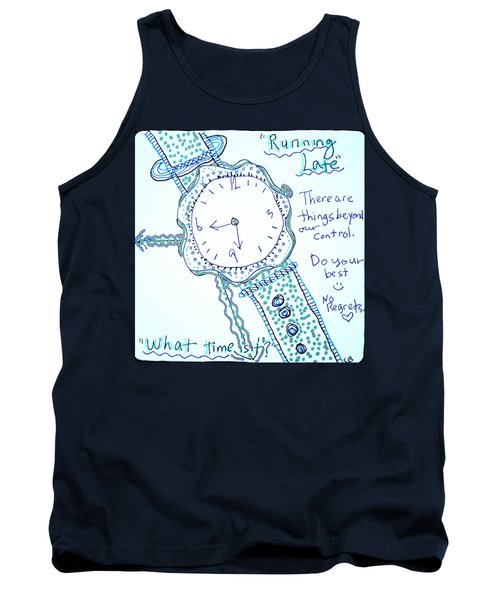 On Time Tank Top