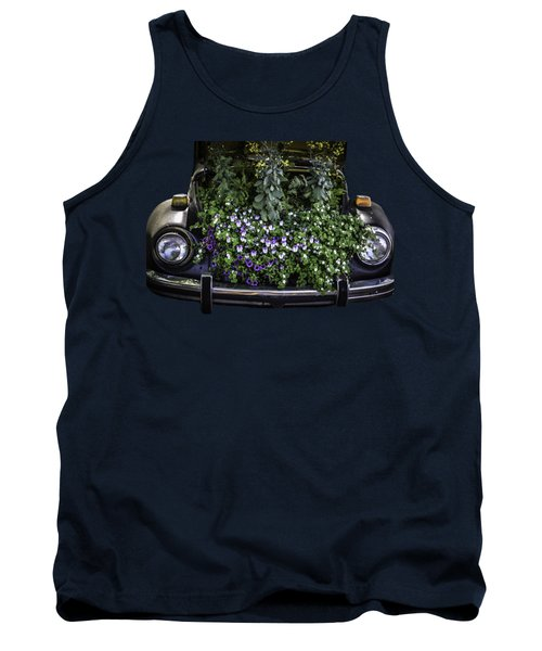 Running On Flowers Tank Top