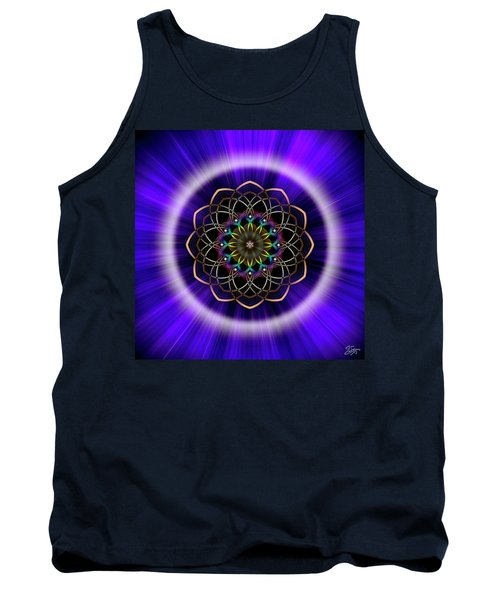 Sacred Geometry 242 Tank Top