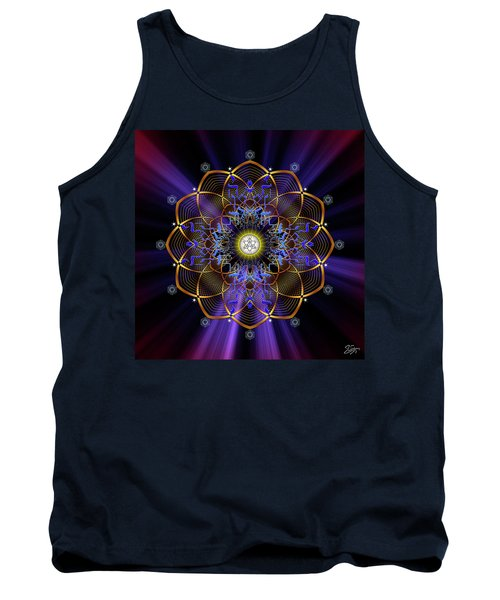 Sacred Geometry 647 Tank Top
