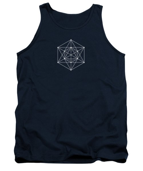 Sacred Geometry  Minimal Hipster Symbol Art Tank Top