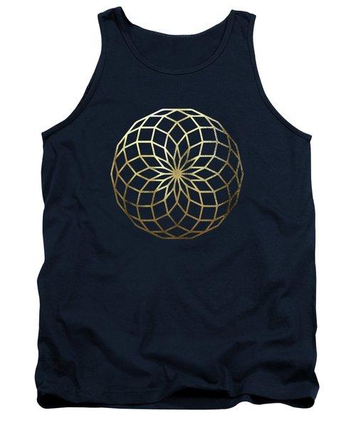 Sacred Geometry - Philosopher's Stone No. 1 Tank Top
