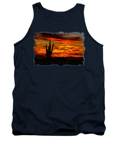 Saguaro Sunset H51 Tank Top