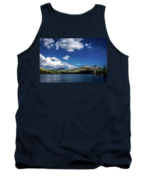 Sailing On Caples Lake Tank Top