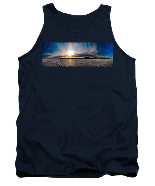 Salt Flats Sunset Tank Top