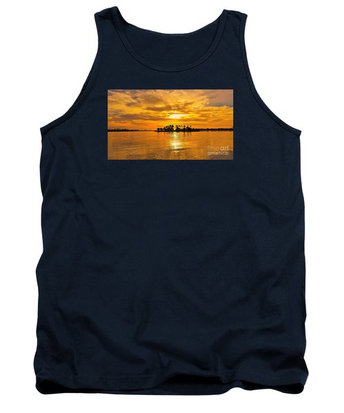 San Diego Golden Sky By Jasna Gopic Tank Top by Jasna Gopic