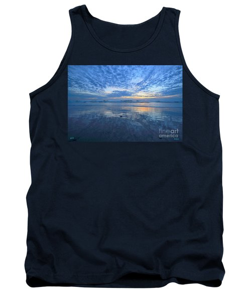 San Elijo Blue Tank Top