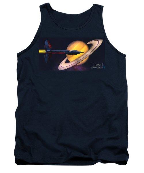 Saturn Visit Tank Top
