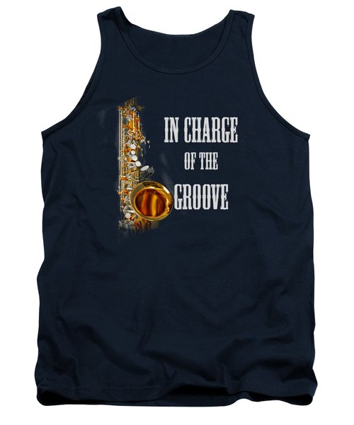 Saxophones In Charge Of The Groove 5531.02 Tank Top