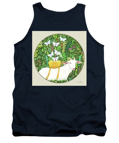 Scapegoat Button Tank Top