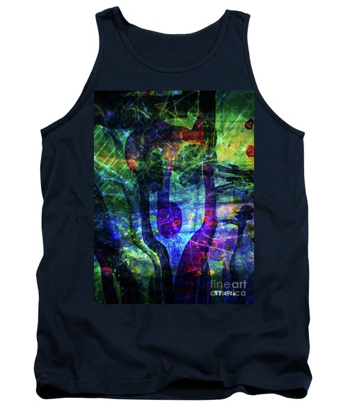 Scary Face-2 Tank Top