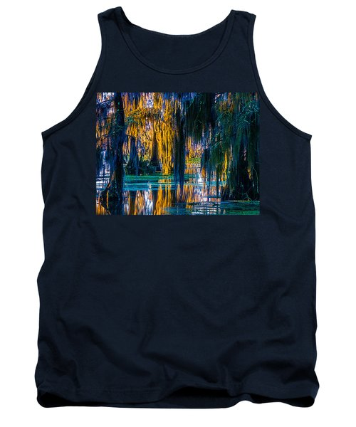 Scary Swamp In The Daytime Tank Top by Kimo Fernandez