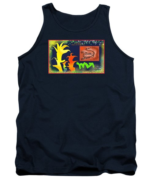 Tank Top featuring the digital art Scorpio by The Art of Alice Terrill