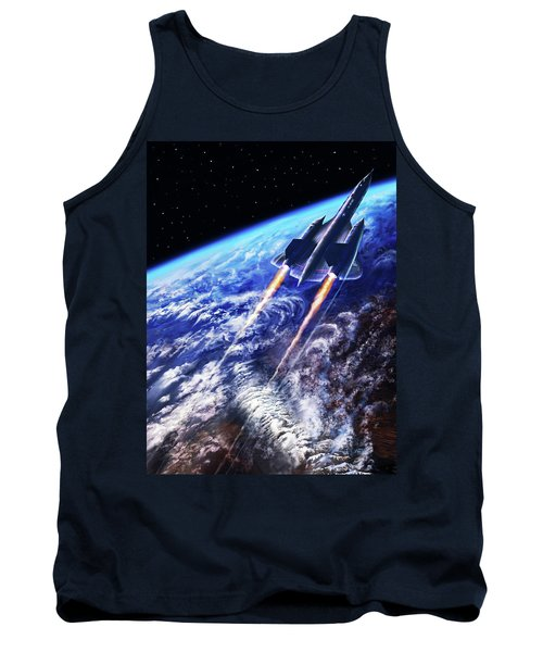 Scraping Outer Spheres Tank Top