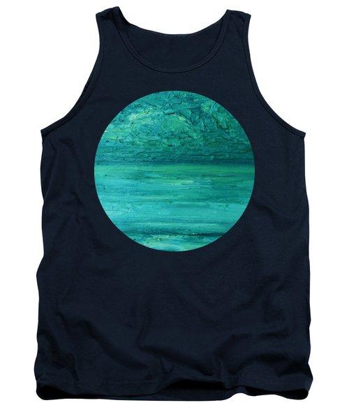 Sea Blue Tank Top