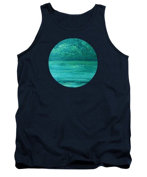 Sea Blue Tank Top