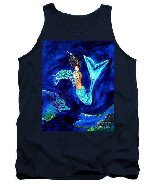 Sea Turtle Kiss Tank Top