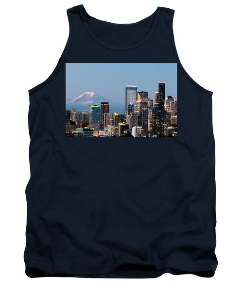 Seattle At First Light I Tank Top