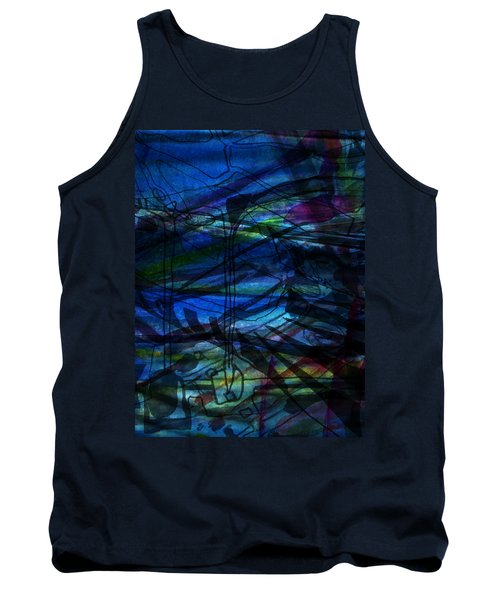Seaweed And Other Creatures Tank Top