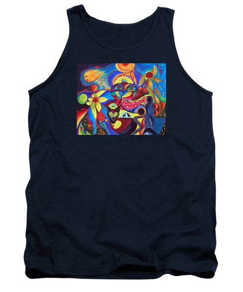 Night Of The Wolf Tank Top