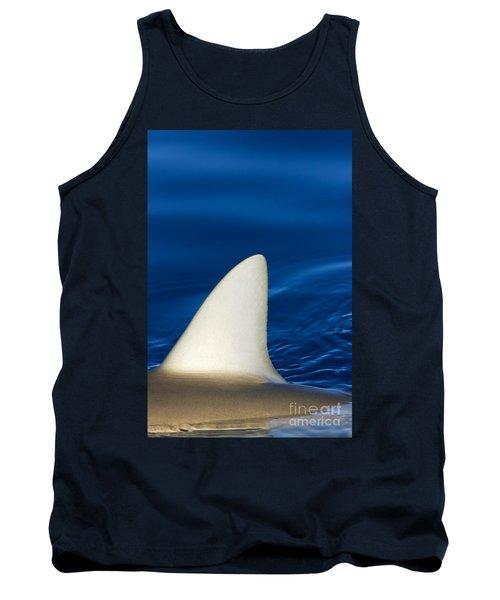 Shark Fin And Blue Tank Top