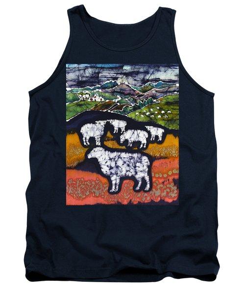Sheep At Midnight Tank Top