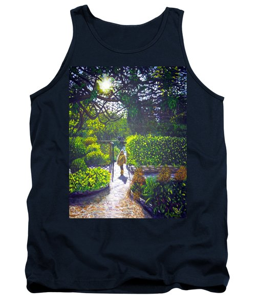 Shirley At Chalice Well Tank Top