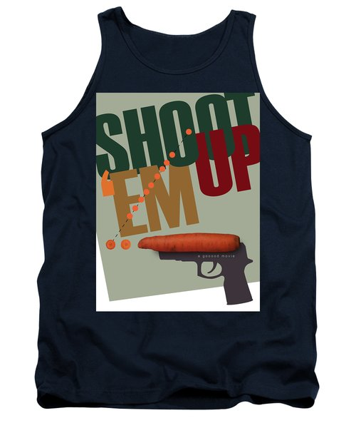 Shoot 'em Up Movie Poster Tank Top