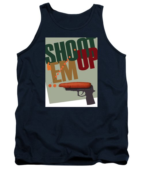 Shoot 'em Up Movie Poster Tank Top