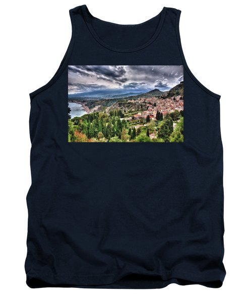 Sicilian Coast Tank Top by Patrick Boening