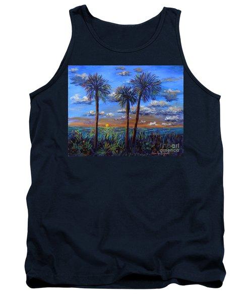 Siesta Summer Sunset Tank Top