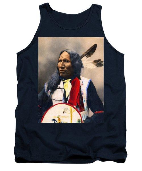 Sioux Chief Portrait Tank Top