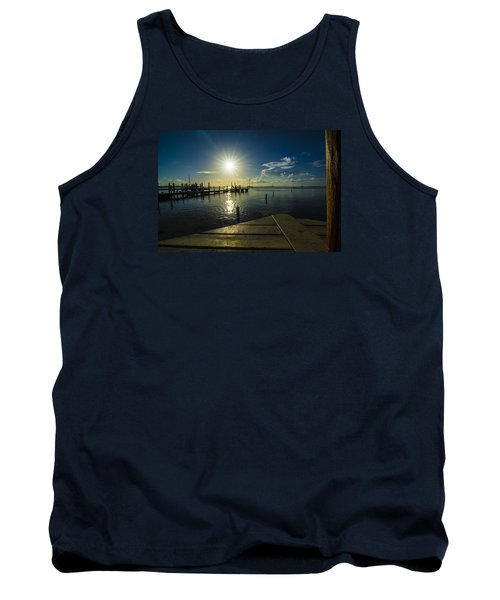 Sitting On The Dock Of The Bay Tank Top
