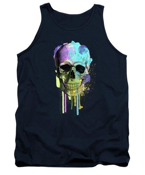 Skull 6 Tank Top