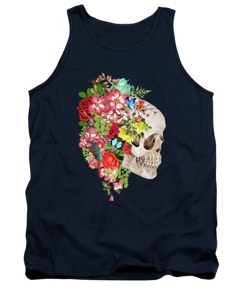 Skull Floral 2 Tank Top