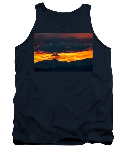 Sky Lava Tank Top by Colleen Coccia