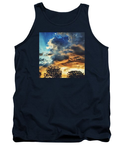 Tank Top featuring the photograph Sky Surf by Nikki McInnes