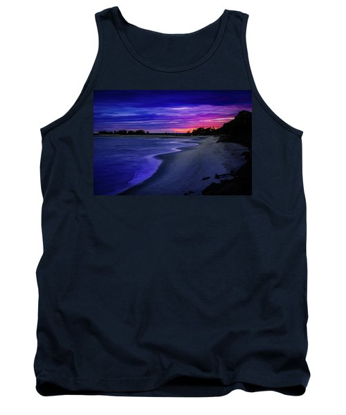 Slow Waves Erupting Clouds Tank Top