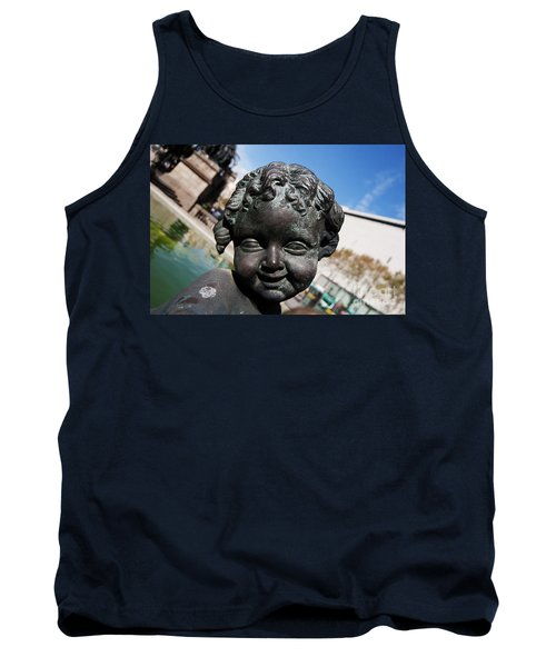 Smiling Cherub Tank Top