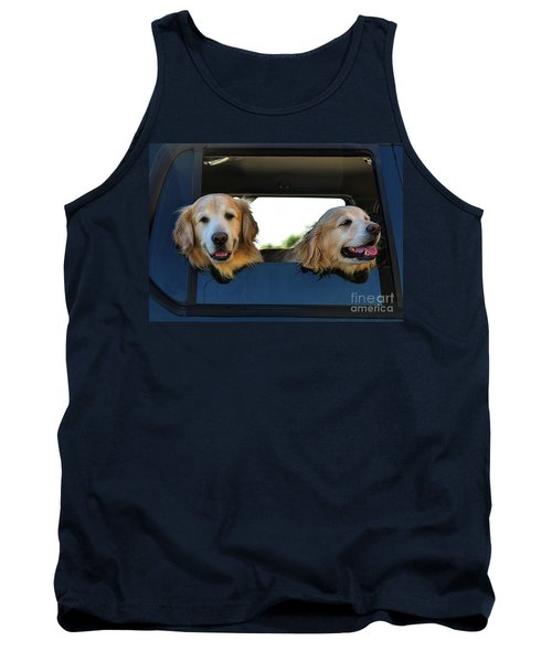 Smiling Dogs Tank Top