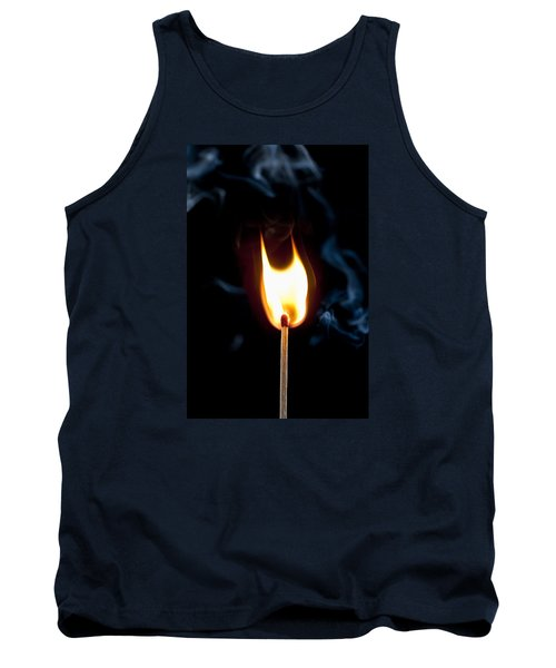 Smoke And Fire Tank Top by Tyson and Kathy Smith