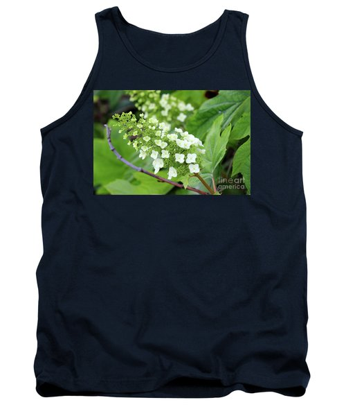 Snow Queen Hydrangea Tank Top