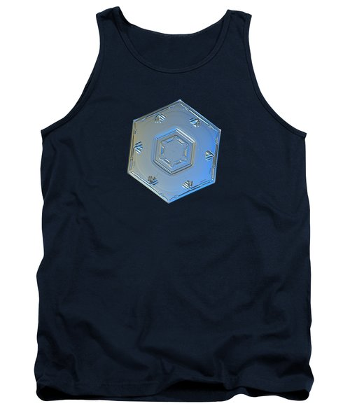 Tank Top featuring the photograph Snowflake Photo - Cryogenia by Alexey Kljatov
