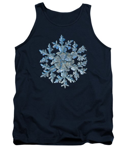 Snowflake Photo - Gardener's Dream Tank Top by Alexey Kljatov