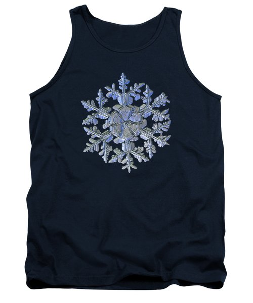 Snowflake Photo - Gardener's Dream Alternate Tank Top by Alexey Kljatov