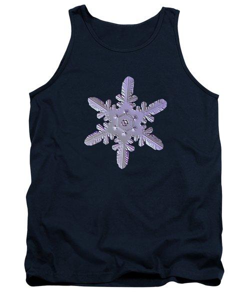 Snowflake Photo - Heart-powered Star Tank Top
