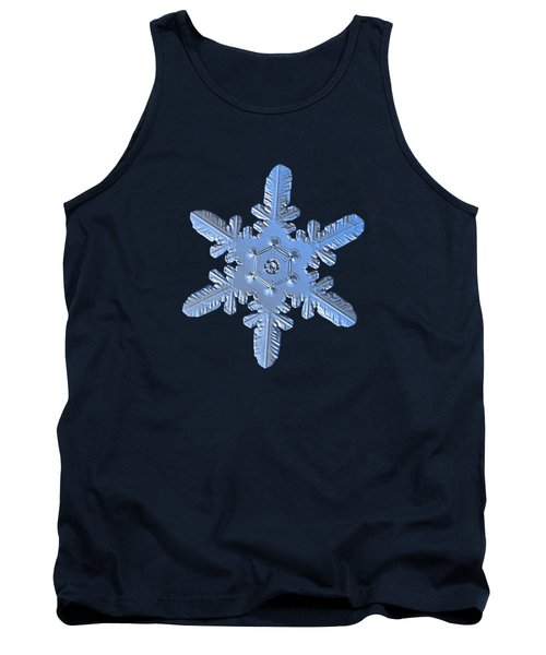 Snowflake Photo - Heart-powered Star Alternate Tank Top by Alexey Kljatov