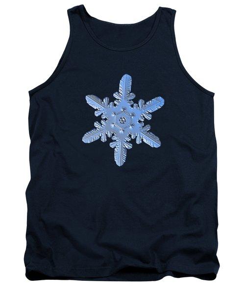 Snowflake Photo - Heart-powered Star Alternate Tank Top